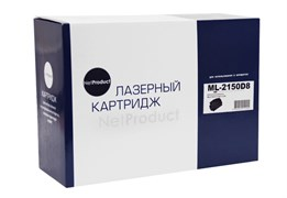 Картридж NetProduct (N-ML-2150D8) для Samsung ML-2150/2151n/2152w/2550/2551n, 8K