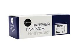 Картридж NetProduct CF 218A для HP LJ Pro M104/MFP M132, 1,4K, без чипа