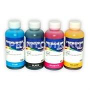 InkTec Набор чернил E0010 для Epson L100, L110, L120, L132, L200, L210, L222, L300, L312, L350, L355, L362, L366, L456, L550, L555, L1300 (4 x 100 мл)