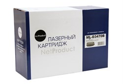Картридж NetProduct ML-D3470B для Samsung ML-3470D/3471ND, 10K - фото 5898